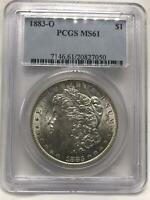 1883-O MORGAN DOLLAR| SILVER $1 | PCGS MINT STATE 61 | VAM 36A | NEW ORLEANS SV20109