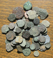 FIFTY   LOW GRADE CULL AND CHIPPED ROMAN COINS   CHEAP