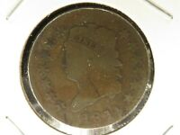 1814 CLASSIC HEAD LARGE CENT CROSSLET 4  10