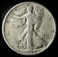1935-P WALKING LIBERTY 90 SILVER HALF SHIPS FREE. BUY 5 FOR $2 OFF