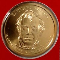 2009-D PRESIDENTIAL DOLLAR ZACHARY TAYLOR BU M/S LRR 50 CENTS SHIPPING