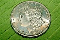 A492,HIGH GRADE,MORGAN SILVER DOLLAR,1881-S VAM-38 DBLD SPIKED 8'S