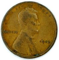 1912-P 1C LINCOLN WHEAT CENT 17RR0811-2 50 CENTS SHIPPING