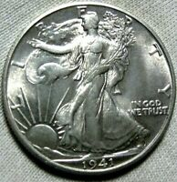 1941 S WALKING LIBERTY HALF DOLLAR GEM BU