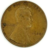 1924-P 1C LINCOLN WHEAT CENT 17LOR0806-2 50 CENTS SHIPPING