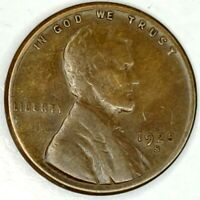 1925-S 1C LINCOLN WHEAT CENT 19RR0518 50 CENTS SHIPPING