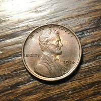 1914 LINCOLN CENT  GEM BROWN UNCIRCULATED