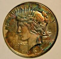 1926-S PEACE DOLLAR TONED  15-179 AT