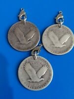 STANDING LIBERTY QUARTER SILVER CHARM LOT ALL YEAR 1927