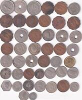 46 OLD EGYPT COINS INC SILVER ISLAMIC MIDDLE EAST  E40