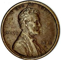 1920-S 1C LINCOLN WHEAT CENT EXTRA FINE  20LOS0124 50 CENTS SHIPPING
