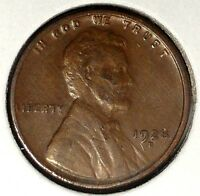 1928-D 1C LINCOLN WHEAT CENT EXTRA FINE  18RR1020 50 CENTS SHIPPING