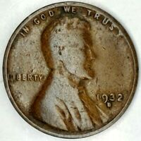1932-D 1C LINCOLN WHEAT CENT 20OTT0124 50 CENTS SHIPPING