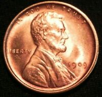 1909 VDB LINCOLN HEAD PENNY CENT COIN MS BU UNC  RED BUY NOW OFFER