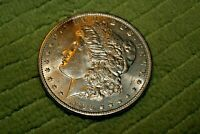 A626,MORGAN SILVER DOLLAR,1896-P VAM-1F COLLAR CLASH OBVERSE,GEM BU