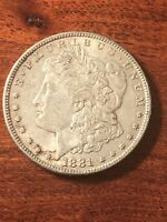 1881  MORGAN SILVER DOLLAR 90 SILVER