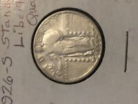 1926 S STANDING LIBERTY QUARTER SILVER COIN
