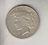 1926S  PEACE SILVER DOLLAR   H