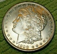 A832,MORGAN SILVER DOLLAR,1898 O VAM 13A R5 HIGH GRADE BU