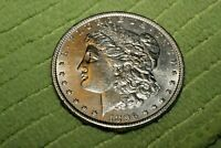 A721,MORGAN SILVER DOLLAR,1896-P VAM-28 SLANTED DATE,BU HIGH GRADE