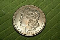 A757,SELDOM SEEN AU1881 O VAM 35,MORGAN SILVER DOLLAR,