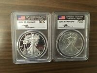 2016 30TH ANNIVERSARY SILVER EAGLE SET PF 70 DCAM, BURNISHED PCGS