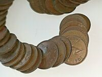 1947 ENGLISH FARTHINGS COINS  50 COUNT  LOT