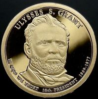 2011 S PRESIDENTIAL DOLLAR ULYSSES S GRANT GDC PROOF 70 CENTS SHIPPING
