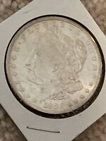 1882-S MORGAN SILVER DOLLAR IN MS/BU CONDITION  PROOF-LIKE COIN.