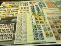 US MNH POSTAGE SHEETS COLLECTION  SEE DESCRIPTION  FACE $500