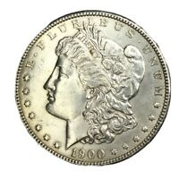 1900 $1 MORGAN SILVER DOLLAR UNC