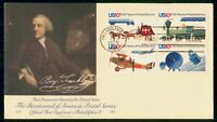 MAYFAIRSTAMPS 1975 US FDC POSTAL SERVICE 200 YRS COMBO FRANK