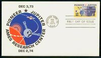 MAYFAIRSTAMPS 1975 US FDC PIONEER JUPITER AMES RESEARCH CENT
