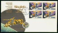 MAYFAIRSTAMPS 1974 US FDC SKYLAB BLOCK FIRST DAY COVER WWF_9
