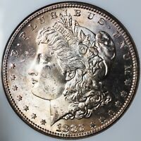 1882-S MINT SEMI-PROOF LIKE ERROR MOGAN SILVER DOLLAR COIN NGC CERTIFIED