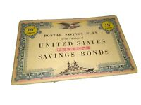 US POSTAL SAVINGS PLAN BOOKLET WITH 10 CENT STAMPS PS 333 10