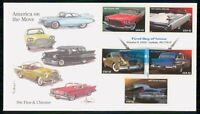 MAYFAIRSTAMPS US FDC 2008 CLASSIC CARS COMBO FIRST DAY COVER