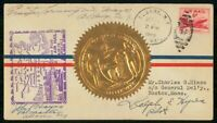 MAYFAIRSTAMPS US FLIGHT 1949 ALBANY AM 79 PILOT AUTOGRAPH CO