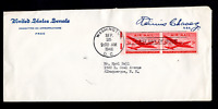 U. S. FIRST DAY COVER   AIR MAIL ISSUE   1946   ON UNITED ST