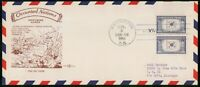 MAYFAIRSTAMPS US FDC 1944 KOREA PENT ARTS OCCUPIED NATIONS W