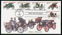 MAYFAIRSTAMPS US FDC 1995 ANTIQUE CARS COMBO FIRST DAY COVER