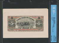 1903 THE UNION BANK OF CANADA $5 FACE PROOF. 14 02P. CCCS UNC64. .