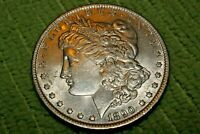 A1199,SELDOM SEEN ,1890 P VAM 1B MORGAN SILVER DOLLAR,
