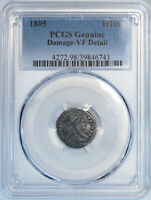 1805 H10C PCGS GENUINE VF DETAIL