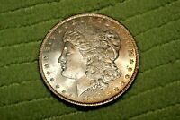 A1294,HIGH GRADE MORGAN SILVER DOLLAR,1890 P VAM 10,SELDOM SEEN VAM BU
