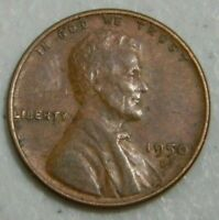 1950-D US WHEAT CENT LINCOLN CENT FROM COIN BANK ROLL