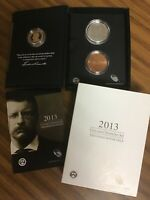 2013 US MINT COIN AND CHRONICLES SET THEODORE ROOSEVELT