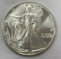 1986 AMERICAN SILVER EAGLE  KEY DATE FIRST YEAR ISSUE