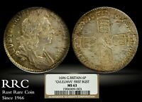 CERTIFIED NGC 1696 GREAT BRITAIN 6 PENCE SIXPENCE WILLIAM II