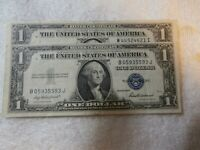 2   1935 F $1.00 SILVER CERTIFICATE  1 IS  MISALIGNMENT